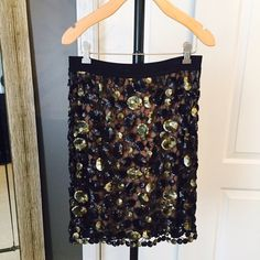 Bcbgmaxazria sequin skirt Beautiful skirt. Great condition BCBGMaxAzria Skirts