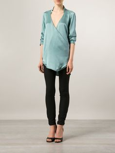 Strateas Carlucci Cross Over Front Blouse - Odd. - Farfetch.com