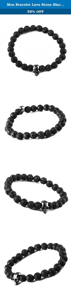 Men Bracelet Lava Stone Black Skull Elastic Bracelet. Bei Chong jewelry was founded in 2008. Main stainless steel jewelry production and marketing, professional 316L stainless steel jewelry manufacturer, is a collection of jewelry research and development, sales, wholesale, trade in one of the industry and trade oriented manufacturers. 6 years of professional experience in the production of stainless steel jewelry, with a complete, scientific quality management system. Adhere to the…