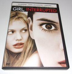 Girl, Interrupted DVD 2000 Widescreen Winona Ryder Angelina Jolie Clea Duvall