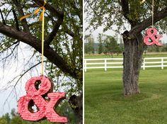 Ampersand Piñata | 20 Creative Ways to Make a Piñata