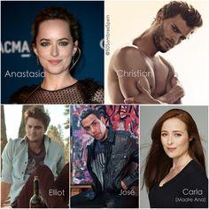 Casting oficial confirmado hasta la fecha (14 noviembre 2013)