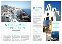 travel magazine layout - Google Search