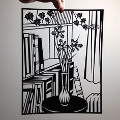 So excited to add a print of this Joe Boruchow three irises cut out to my growing art collection.