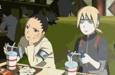 Shikadai and Inojin - Boruto: Naruto Next Generations Boruto And Sarada, Shikadai, Shikatema, Gaara, Naruto Shippuden, Kakashi, Naruto Fan Art, Anime Naruto, Inojin Yamanaka