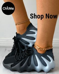 Sneakers Wallpaper, Shoes Wallpaper, Sneakers Fashion Outfits, Knit Sneakers, Color Blocking, Lace Up, Up Front, Knitting, Products