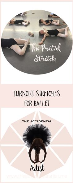 """Get yourself into a """"Pretzel"""" and improve your turnout, dancers! via @The Accidental Artist"""