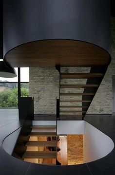 Stair [steel & wood] #architecture