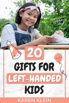 Here are 20 ideas of gifts for left handed kids, sorted by category like school, sport, baking and more! #lefthandedkids #lefty #giftsforlefthandedkids Left Handed Pens, Left Handed Day, Left Handed People, Peaceful Parenting, Kids And Parenting, Parenting Hacks, Teenage Gifts, Gifts For Teens, Kid N Teenagers
