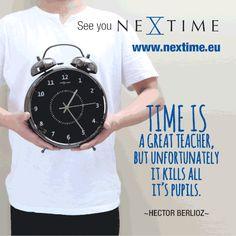 Time should buy a better clock I guess. Hector Berlioz, Fun Stuff, Clock, Fun Things, Watch, Clocks