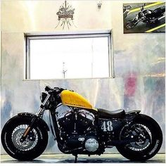 """721 Likes, 6 Comments - Harley-Davidson Sportster (@sportstermagazine) on Instagram: """"Tag #sportstermagazine taken from {@sheik_customs } ________________________________ #harley…"""""""