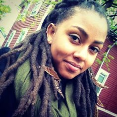 #dreads #blackwoman #beauty