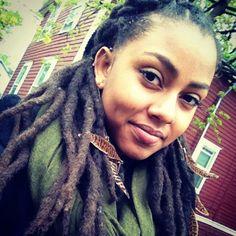 #dreads #blackwoman #beauty