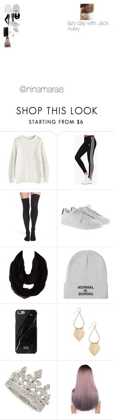 """""""Lazy day with Jack Avery"""" by ninamarais on Polyvore featuring adidas Originals, Nordstrom, Yves Saint Laurent and Avery"""