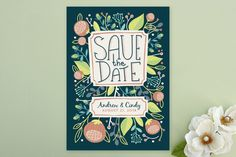 Summer Daze Save the Date Cards by Danielle Hartgers at minted.com