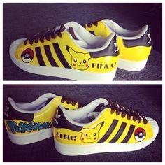 Adidas Superstar x Pikachu