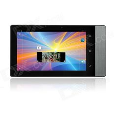 Portable Multimedia Pocket Cinema Pico Projector Quad-Core Android 4.1 Tablet PC - Black + Iron Grey - From 349,= for Euro 264,55
