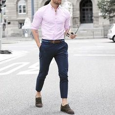 Casual outfit idea for men Formal Dresses For Men, Formal Men Outfit, Men Formal, Stylish Mens Outfits, Business Casual Outfits, Office Outfits, Style Casual, Men Casual, Style Costume Homme