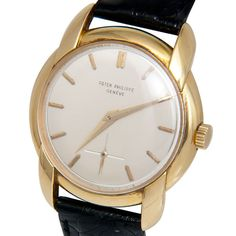 PATEK PHILIPPE Yellow Gold Wristwatch with Fancy Lugs Ref 2536  image 3