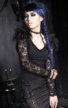 Punk Gothic Boho Mode Kvindemode Gotisk Steampunk Alternativ Gothpiger