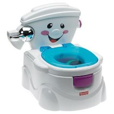ot rigolo avec chasse d'eau et musique pour apprendre la propreté aux petits petit wc enfant fisher price, nov. 2010