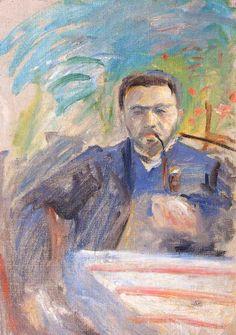 Hans Thuar - Autoritratto (1908/1909)