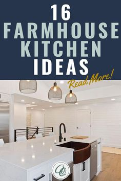 Explore curated farmhouse kitchen ideas at Annie and Oak's 16 Ideas for the Farmhouse Kitchen of Your Dreams. Here at Annie and Oak, we value quality therefore our ideas will surely make you happy beyond measures. Create a new rustic atmosphere and classy vibes to your farmhouse kitchen by just staying with us. Visit us at annieandoak.com for more tips and ideas in setting up your farmhouse kitchen.