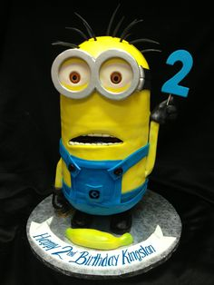 Our newest Minion Cake