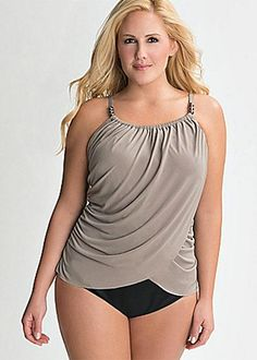 Bathing Suit for Body Type - Plus Sized