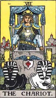 The Chariot tarot card appears when a person is determined to win or succeed at any cost. Find here free Chariot tarot card upright and reversed meanings. Kansas City, The Chariot Tarot, Tarot Significado, Rider Waite Tarot, Oracle Tarot, Daily Tarot, Tarot Card Meanings, Free Psychic, Impressionism