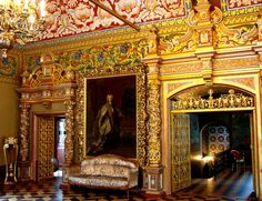 The Yusupov Volkov (or Chambers) Palace interior , Russia