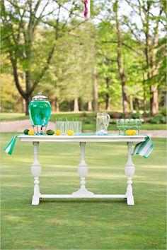 wizard of oz drink station ideas #themedwedding #wizardofoz #drinkstation http://www.weddingchicks.com/2014/01/09/wizard-of-oz-wedding-ideas/