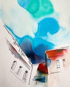Konovalova Natalia @artkonovalova в Instagram: #aquarell #art #painting #watercolor #sketch  #paint  #drawing #sketching #sketchbook #travelbook #archisketcher #sketchaday #sketchwalker #sketchcollector  #artjournal #traveldiary #topcreator #usk #urbansketchers #скетчбук #скетч #скетчинг #pleinair #aquarelle #watercolorsketch #usk #architecture #