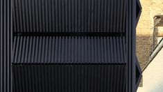 House Cladding, Exterior Cladding, Metal Panels, Metal Facade, Metal Cladding, Facade Design, Exterior Design, Deck Railings, Railing Ideas