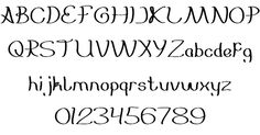 Everybody font by weknow - FontSpace