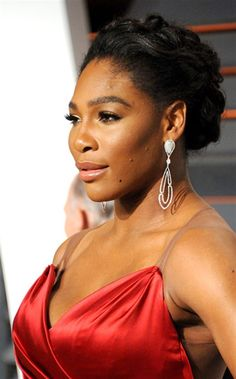 2/23/15 World #1 Serena Williams attended the #Oscars2015 #AfterParty.