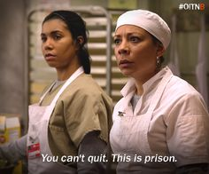 You better check yourself. #OITNB