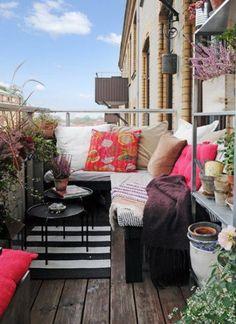 Ev Tasarımları | Yaz Balkonu Fikirleri