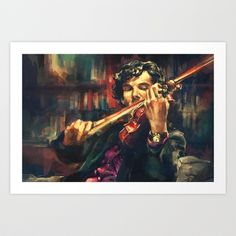 Virtuoso Art Print by Alice X. Zhang - $15.00    Perfect for my bedroom...ahem.