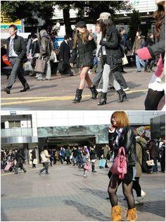 Fufu tá chique e tem correspondente no Japão!! Meu irmão esteve por lá e fotografou o look das japonesas em Tokio. Detalhe para as palavras dele: elas parecem saídas da Vogue. Não é de hoje que sabemos que as japonesas dão um show no quesito fashion, são super estilosas, vivem mudando o cabelo e adooooram …