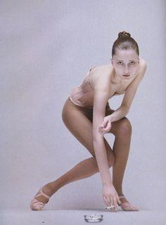 Iekeliene Stange in Vogue Italia August 2006 by Corinne Day