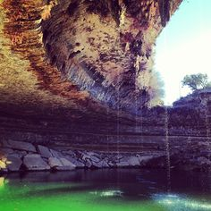 Hamilton Pool Nature Preserve en Dripping Springs, TX