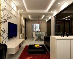 Here are Latest False Ceiling Design For Rectangular Living Room