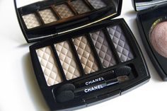 Chanel Holiday 2013 Look & First Impressions Palette, Eyeshadow, Chanel, Holiday, Eye Shadow, Vacations, Pallets, Eye Shadows, Holidays
