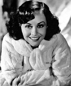 Paulette Goddard (June 3, 1910 – April 23, 1990)[1] was an American film actress. A child fashion model and a performer in several Broadway productions as a Ziegfeld Girl, she became a major star of the Paramount Studio in the 1940s. Goddard was nominated for an Academy Award for Best Supporting Actress for her performance in 1943's So Proudly We Hail! (1943)