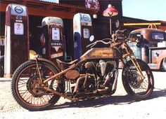 Custom Boardtracker Harley