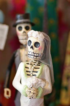 Paper Mache Mexican Folk Art Skeletons « Zinnia Folk Arts