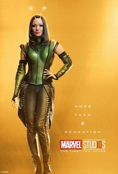 Marvel Drawing Marvel Studios More Than A Hero Poster Series Mantis - Marvel Studios is celebrating 10 years of the MCU this year. To celebrate, they have launched a new site, complete with over 30 character posters! Marvel Avengers, Marvel Girls, Marvel Fan, Captain Marvel, Heroes Dc Comics, Bd Comics, Marvel Dc Comics, Marvel Heroes, Poster Marvel