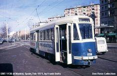 Foto Madrid, Public Transport, Old Pictures, World, Isabel Ii, Train, Plaza, Portugal, Nostalgia