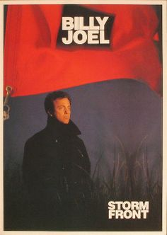 Billy Joel Promotional Poster https://www.facebook.com/FromTheWaybackMachine